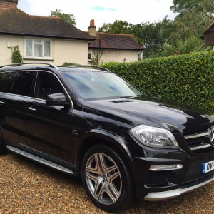 Mercedes GL63 AMG 7 SEATER