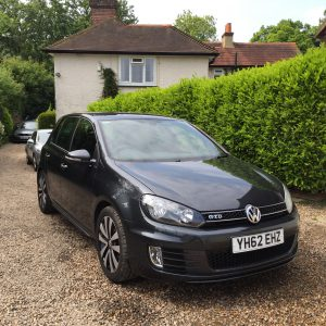 VW GOLF GTD  2.0L TDI 170 BHP