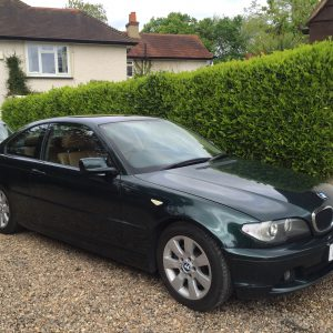 BMW 320 CD COUPE MANUAL