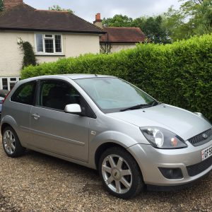 FORD FIESTA 1.25 ZETEC BLUE EDITION