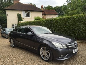 Mercedes E250 Coupe Sport Auto Blue Effic