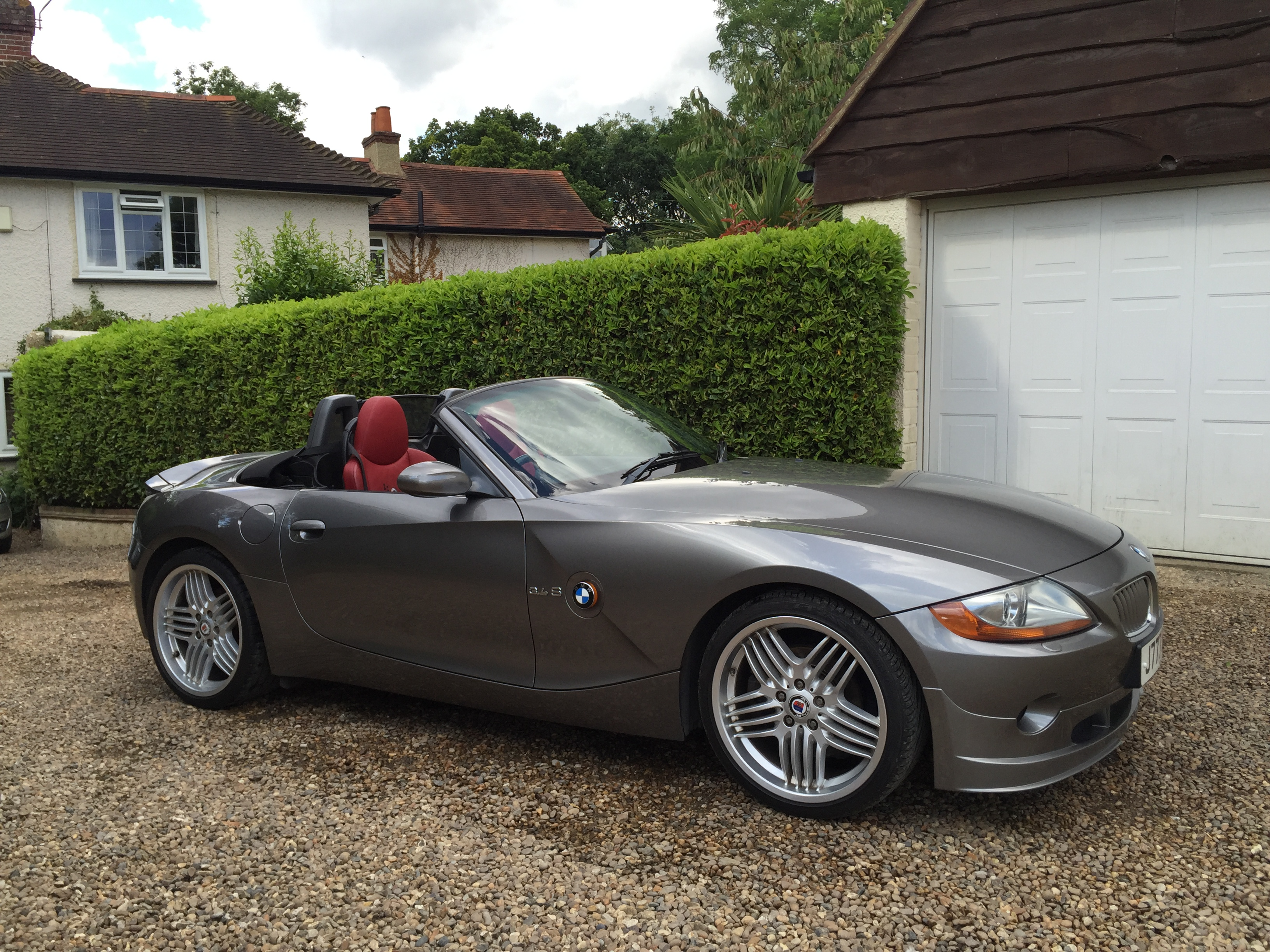 bmw z4 3 4s alpina roadster 6 speed manual gs vehicle servcies. Black Bedroom Furniture Sets. Home Design Ideas