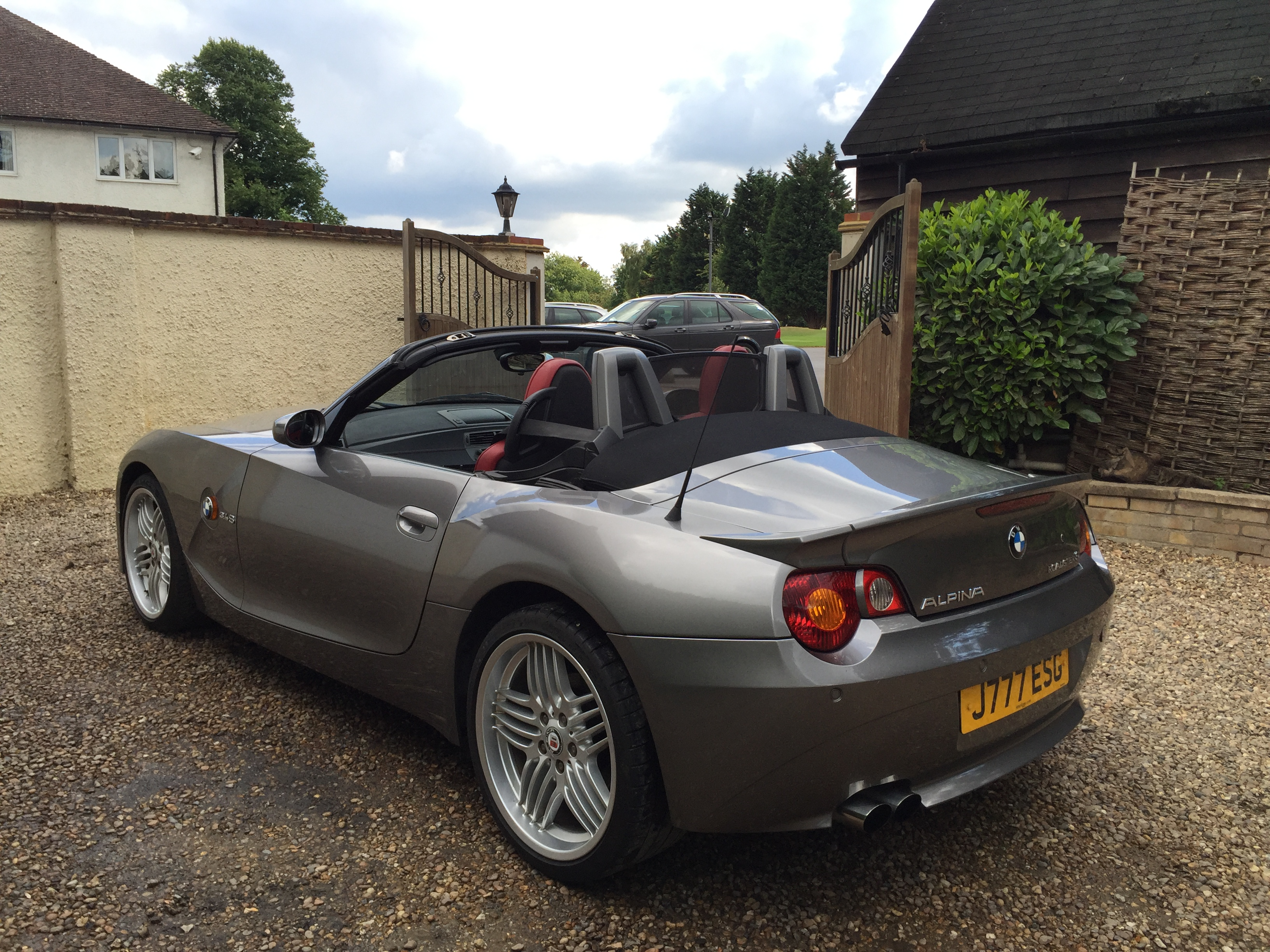 Bmw Z4 3 4s Alpina Roadster 6 Speed Manual Gs Vehicle