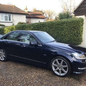 MERCEDES C250 SPORT PETROL BLUE EFFICIENCY AUTO