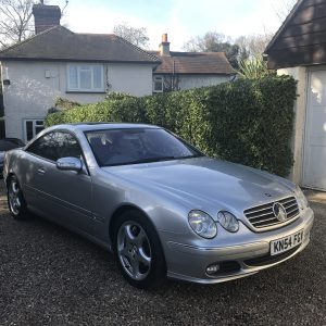 MERCEDES CL600 COUPE AUTO