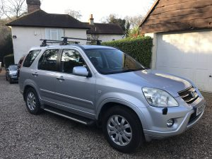Honda CRV I CTDI 2.2 Diesel Executive 6 Speed Manual