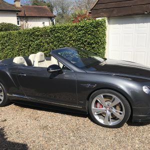 Bentley Continental MULLINER GT V8 S Convertible
