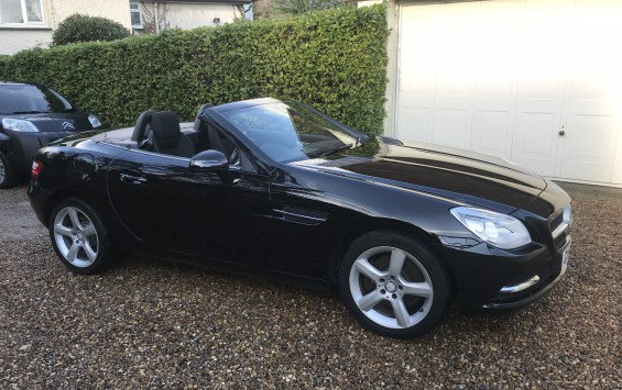 Mercedes SLK250 CDI BLUEEFFICIENCY CONVERTIBLE AUTOMATIC