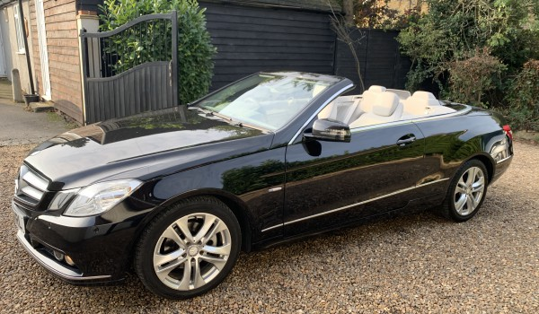 Mercedes E220 CONVERTIBLE SE CDI BLUE EFFICIENCY AUTO