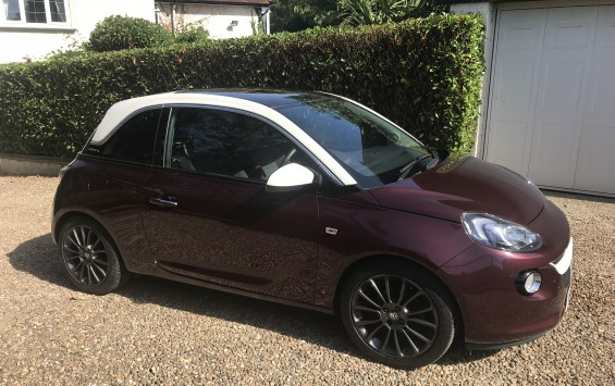 Vauxhall ADAM GLAM 1.4 VVTI PETROL MANUAL