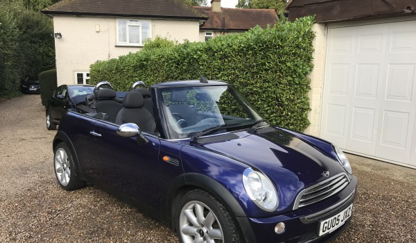 Mini One 1.6 Convertible Petrol Manual