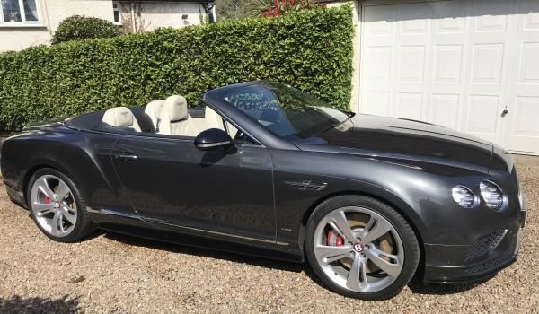 Bentley Continental MULLINER GT V8 S Convertible